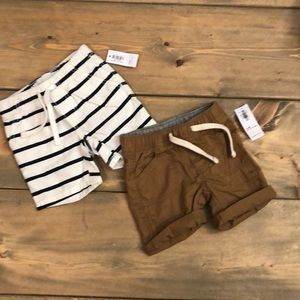 Old Navy baby shorts bundle